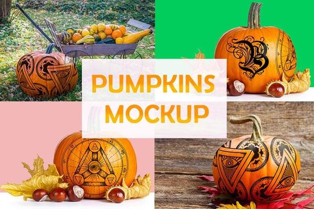 Pumpkin Mockups
