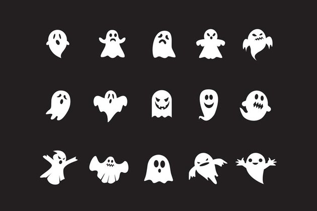 15 Ghost Icons