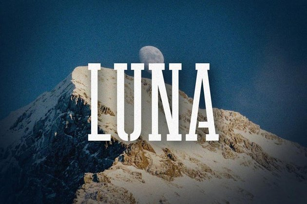 Luna Stencil Bold Font
