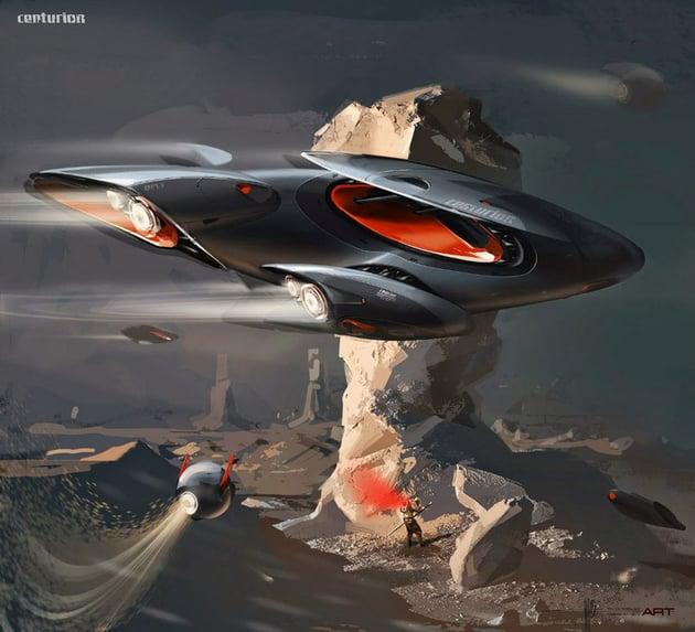 Centurion Concept by Svyatoslav Konahovski