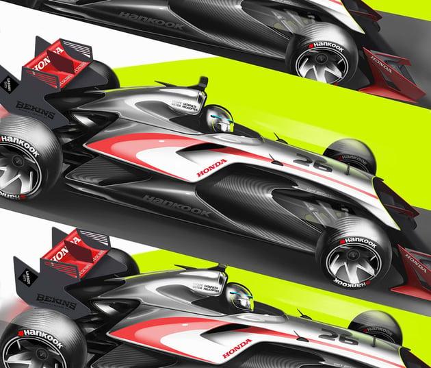 Honda F2 Lizard by Svyatoslav Konahovski