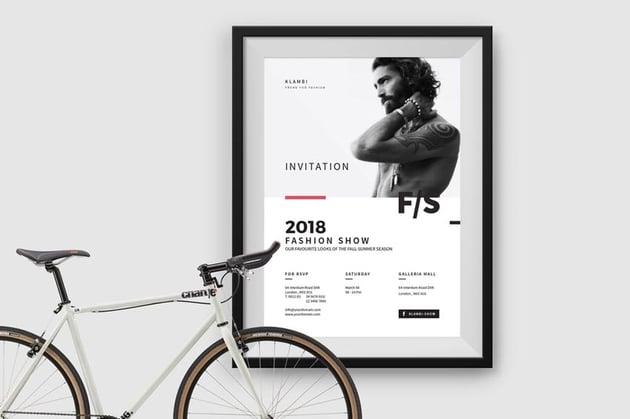 Invitation Fashion Flyer