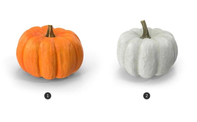 3d pumpkins from Envato Elements