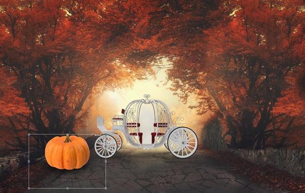 Add the pumpkins