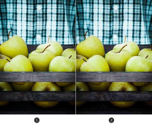 Image quality comparison