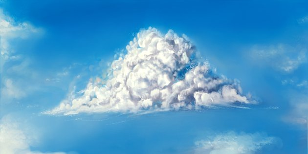 How to Paint a Fluffy Cloud in Photoshop