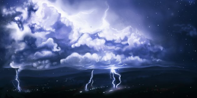 How to Paint a Stormy Cloud in Photoshop
