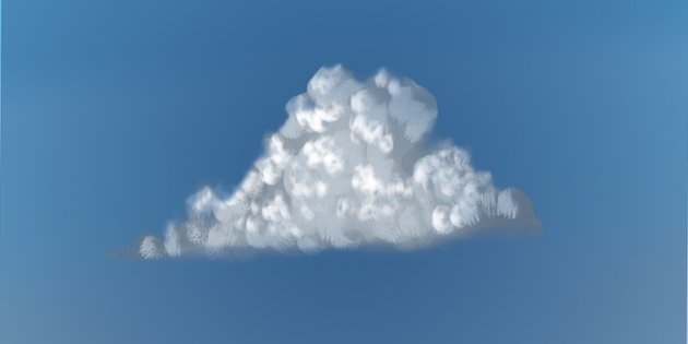 Erase the edges of the cloud