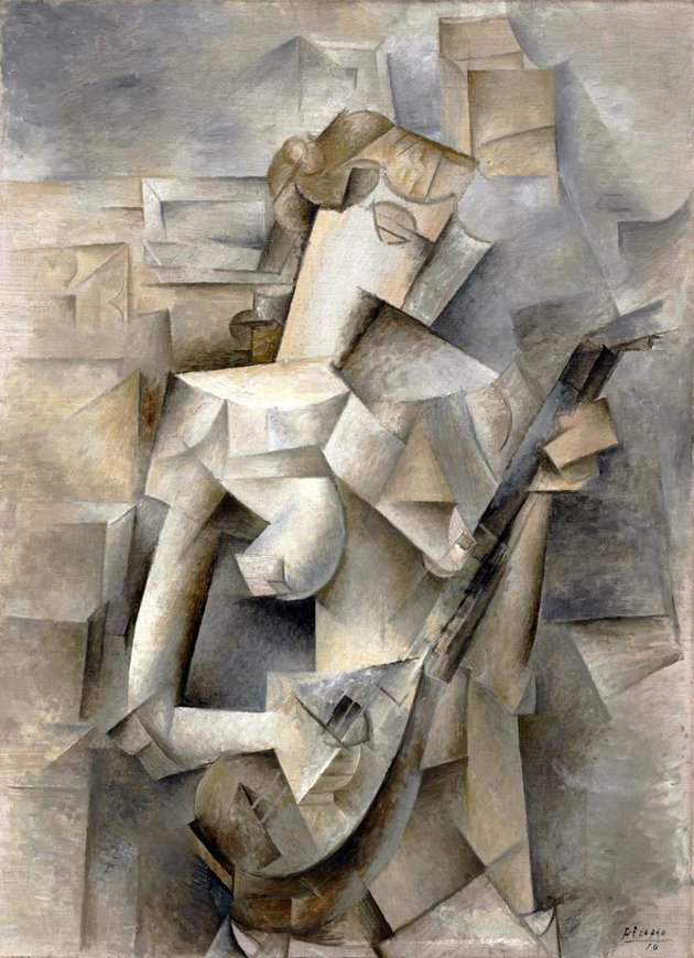 Girl with a Mandolin by Pablo Picasso