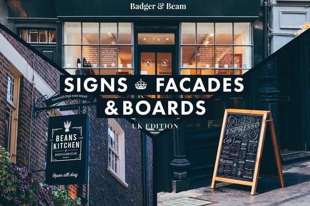 Signs  Facades Mockups