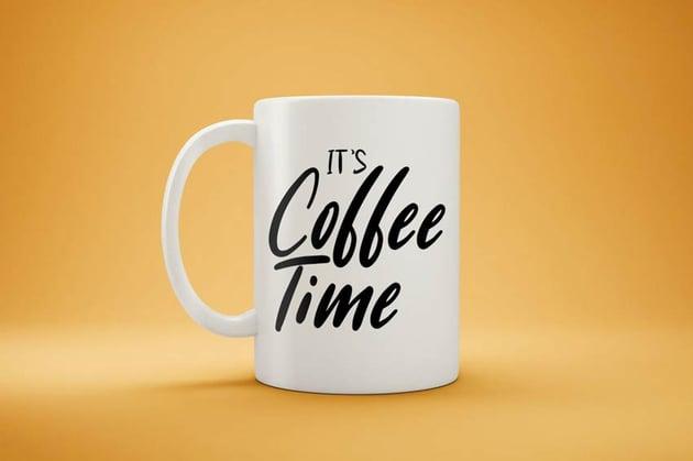 White Coffee Mug Mock-Up