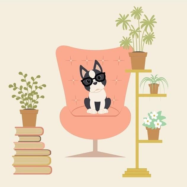 Create a Boston Terrier Illustration in Adobe Illustrator