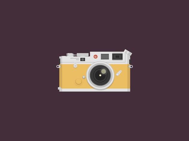 Create a Vintage Camera in Adobe Illustrator