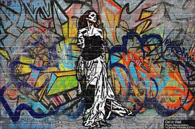 Create a Graffiti Effect in Adobe Photoshop