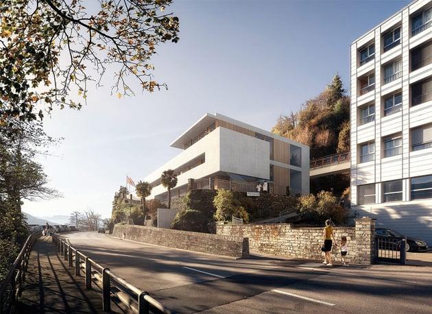 Istituto Miralago in Brissago Switzerland by Rosario Badessa