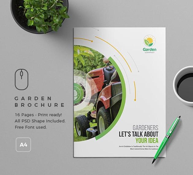 Garden Brochure Template