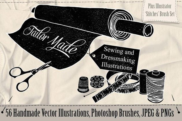 Tailor Made Sewing  Dressmaking Illustrations