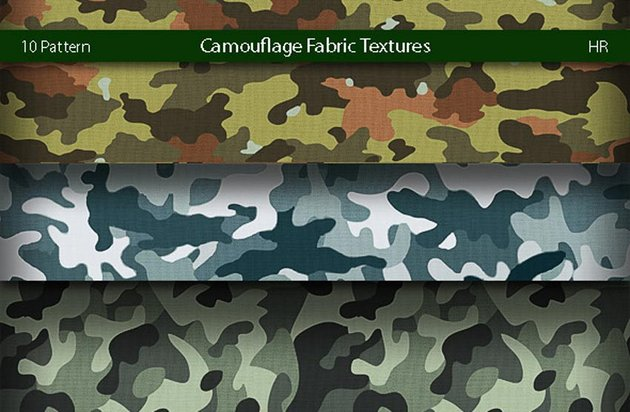 Camouflage Fabric Patterns
