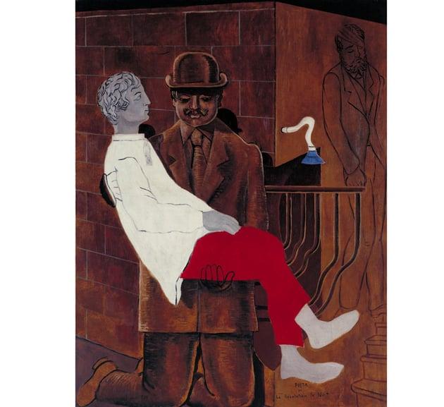 Piet or Revolution by Night by Max Ernst