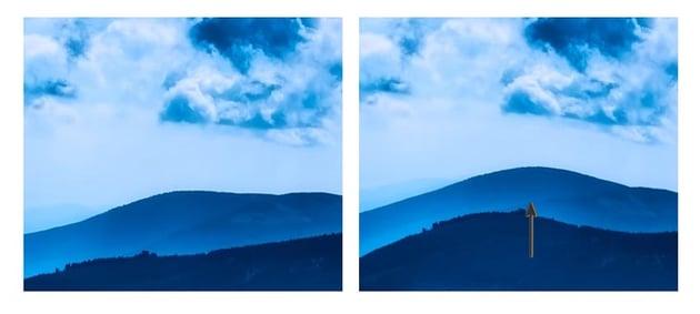 Liquify the mountain