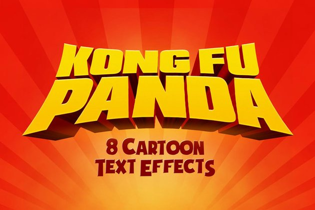 Cartoon Text Effects