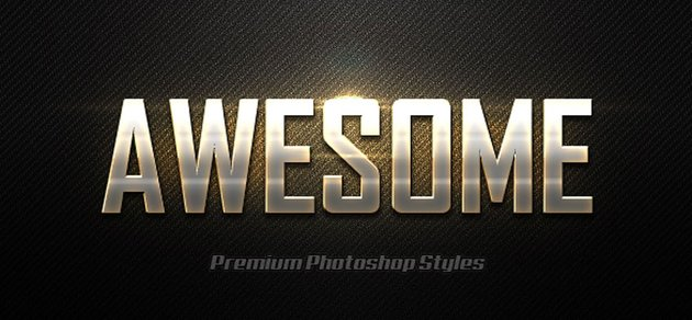 Photoshop Text Effects Vol25