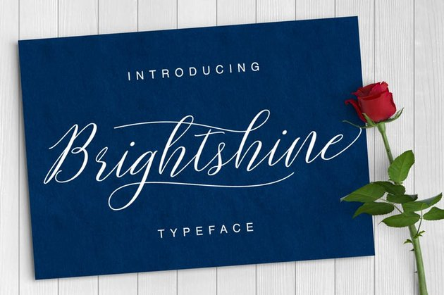 Brightshine Typeface