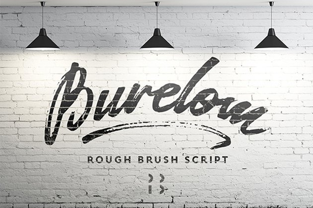 Burelom Brush Script