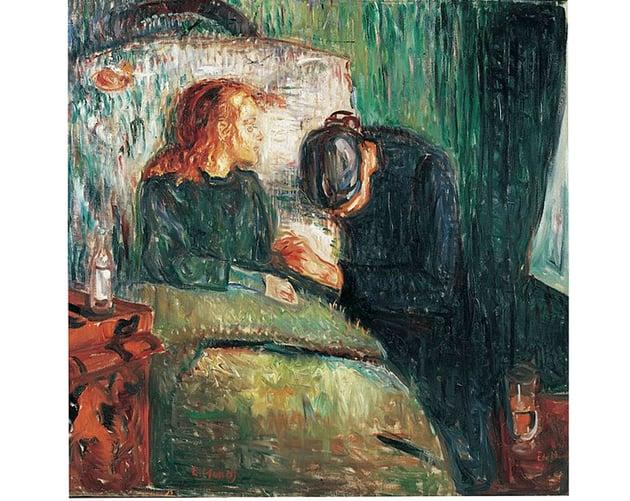 The Sick Child by Edvard Munich