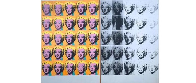 Marilyn Diptych by Andy Warhold