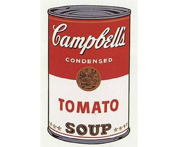 Campbell Soup Cans by Andy Warhol