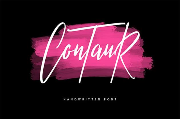 Contaur Typeface