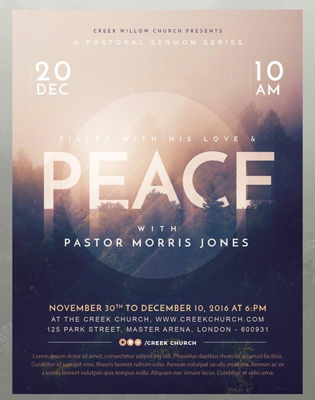 Church Themed Event Flyer