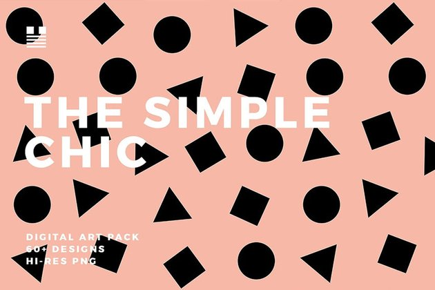 The Simple Chic Digital Art Pack