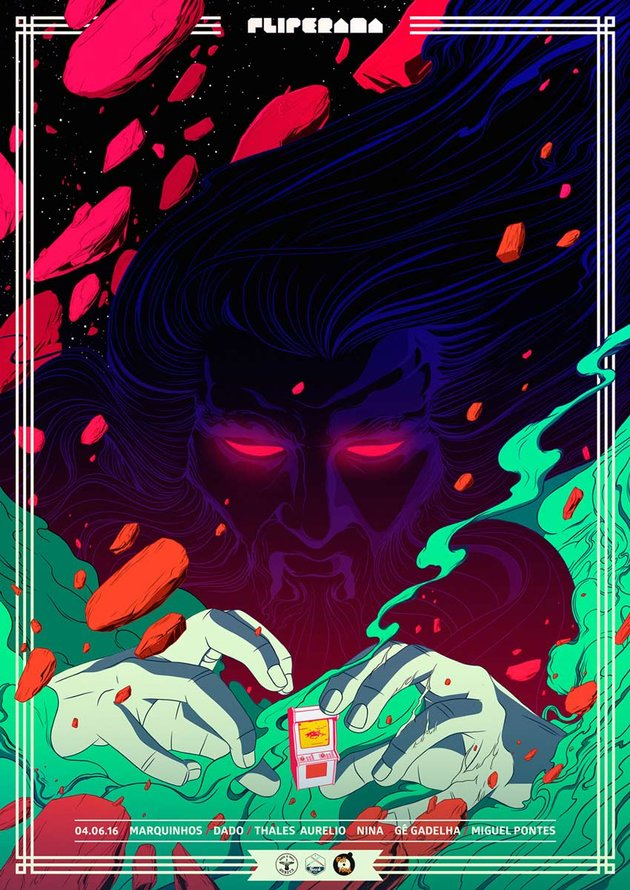 Fliperama Party Poster 3