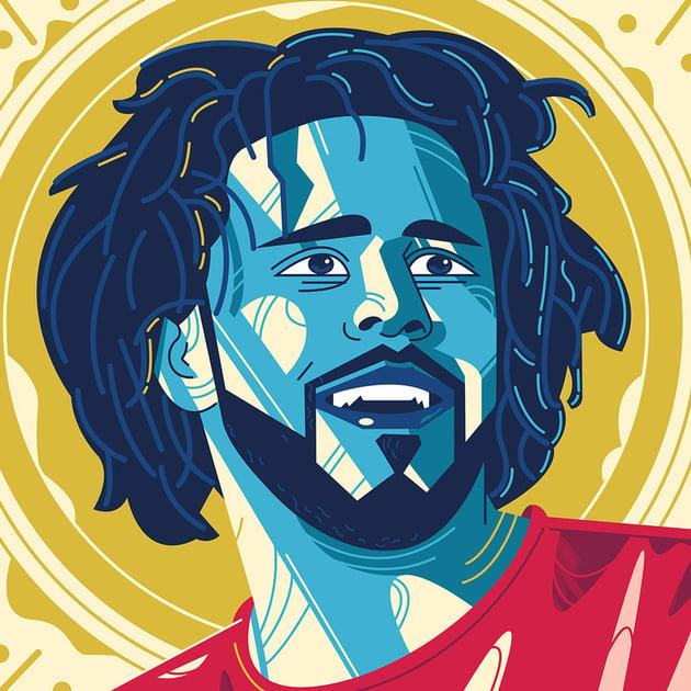 Portrait J Cole