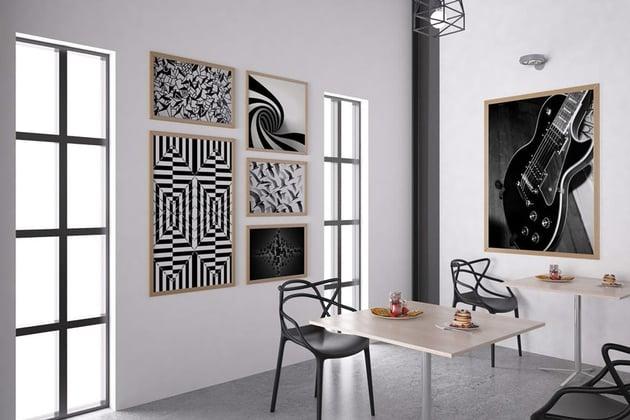 Black White Photo Collage