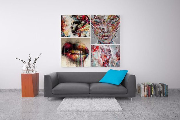 Picture Art Collage Template