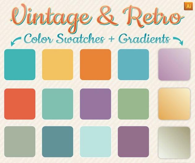 Vintage Retro Gradients