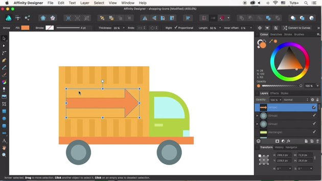 Add details to the truck