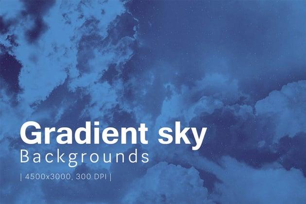 Gradient Sky Backgrounds