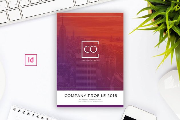 Company Profile Indesign Template