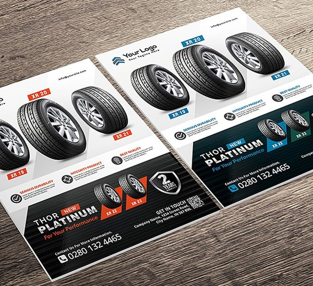 Corporate Sale Promotion Flyer