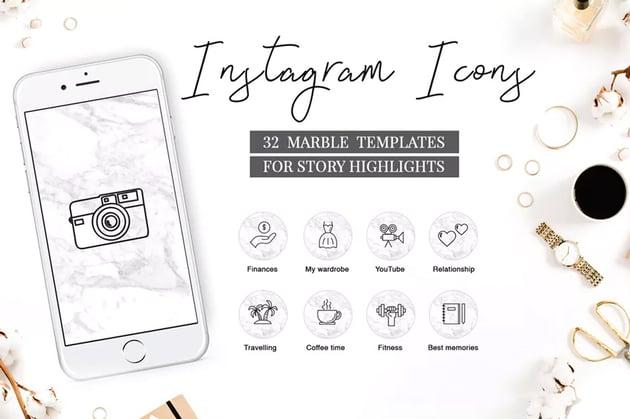 Instagram Highlight Icons Travel