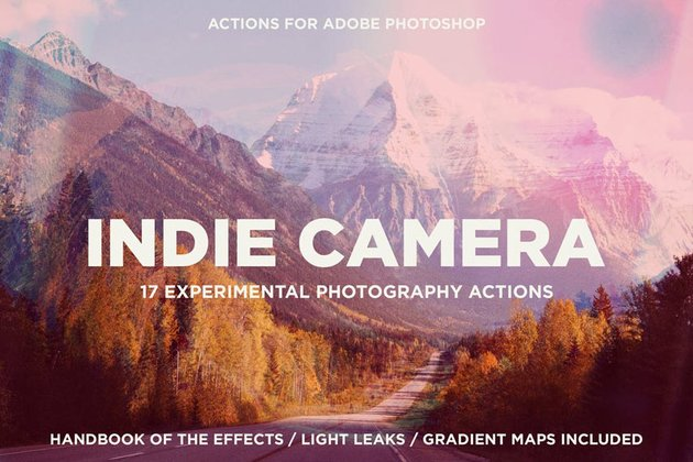 Indie Camera Photo Effect Vintage Download for Adobe Photoshop