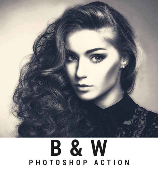B and W Photo Vintage Photography Aesthetic Effect