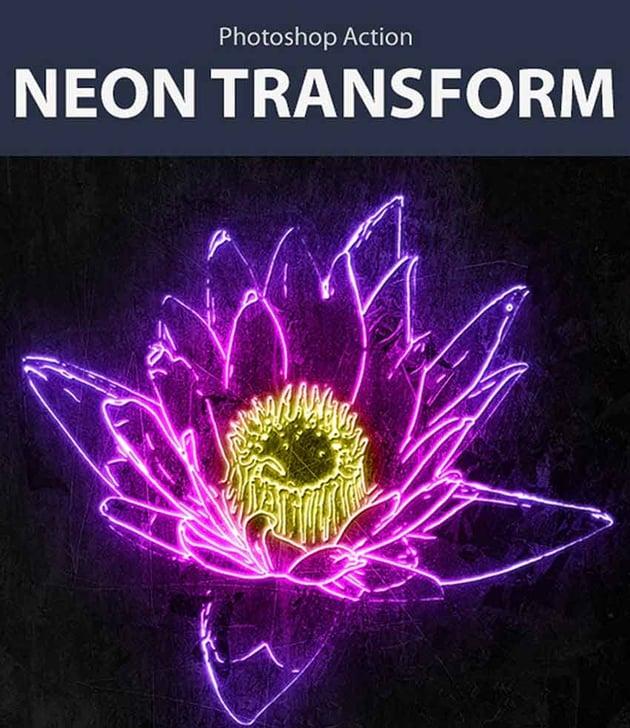 Neon Transform Photo Effects