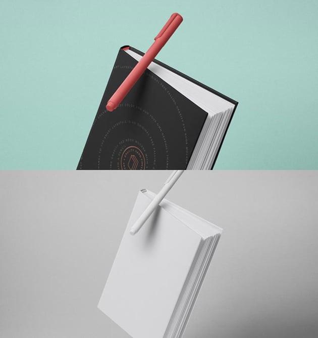 Gravity Psd Book Mockup Hardcover