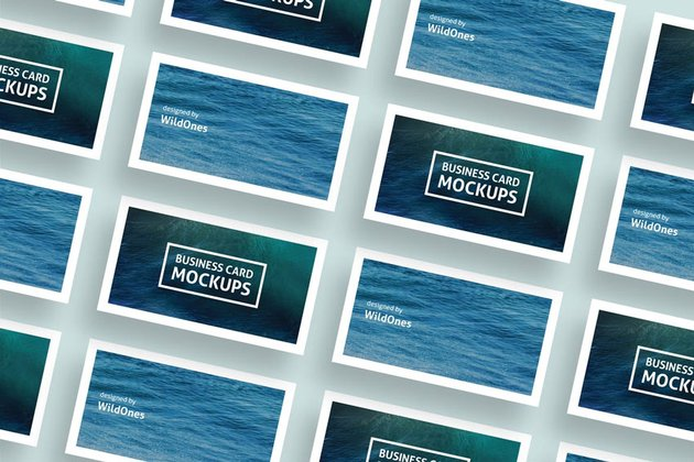 Simple Business Card Mockups