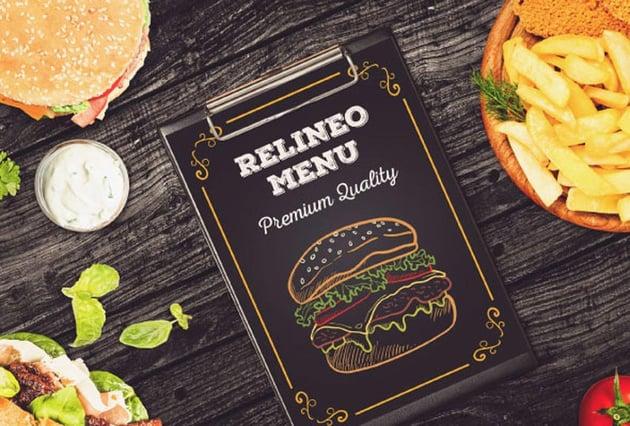 Fast Food Menu Mockup Pack